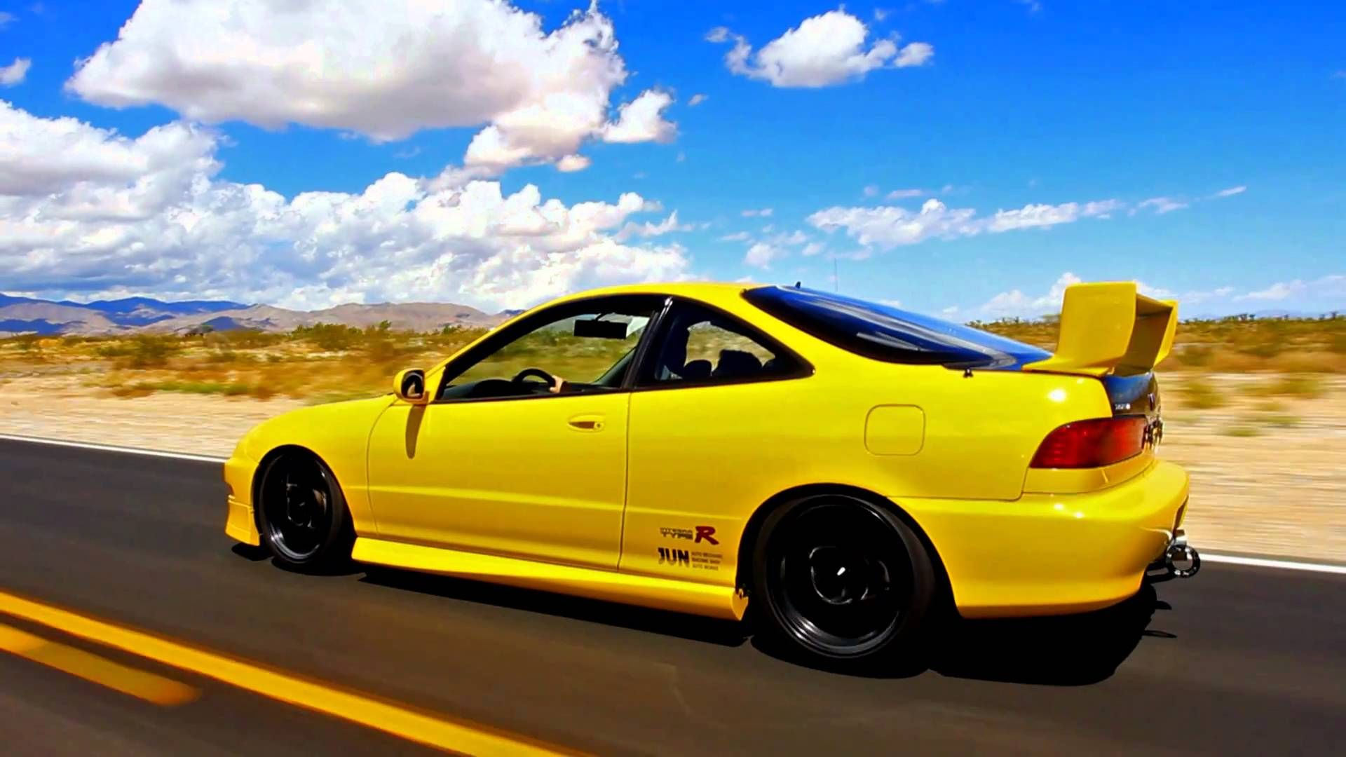 mugen integra type r - the form is in the function - the4elementz