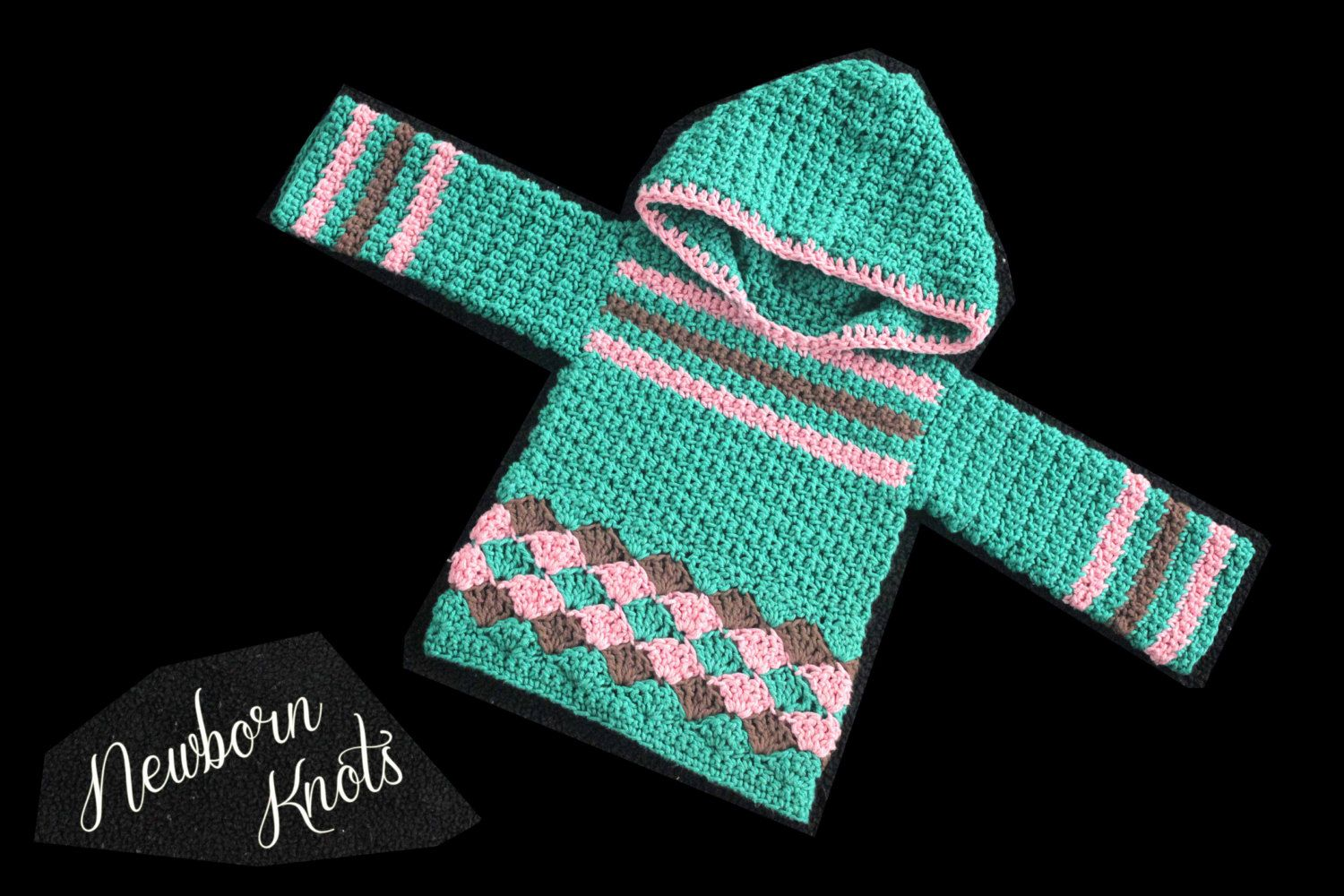 a3b03926e CROCHET PATTERN For Baby Boy or Girls Pullover by NewbornKnots ...
