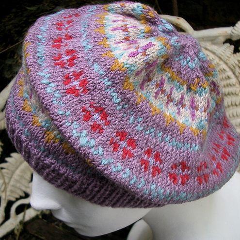 fair isle hat   Knitted hats   Pinterest   Mütze