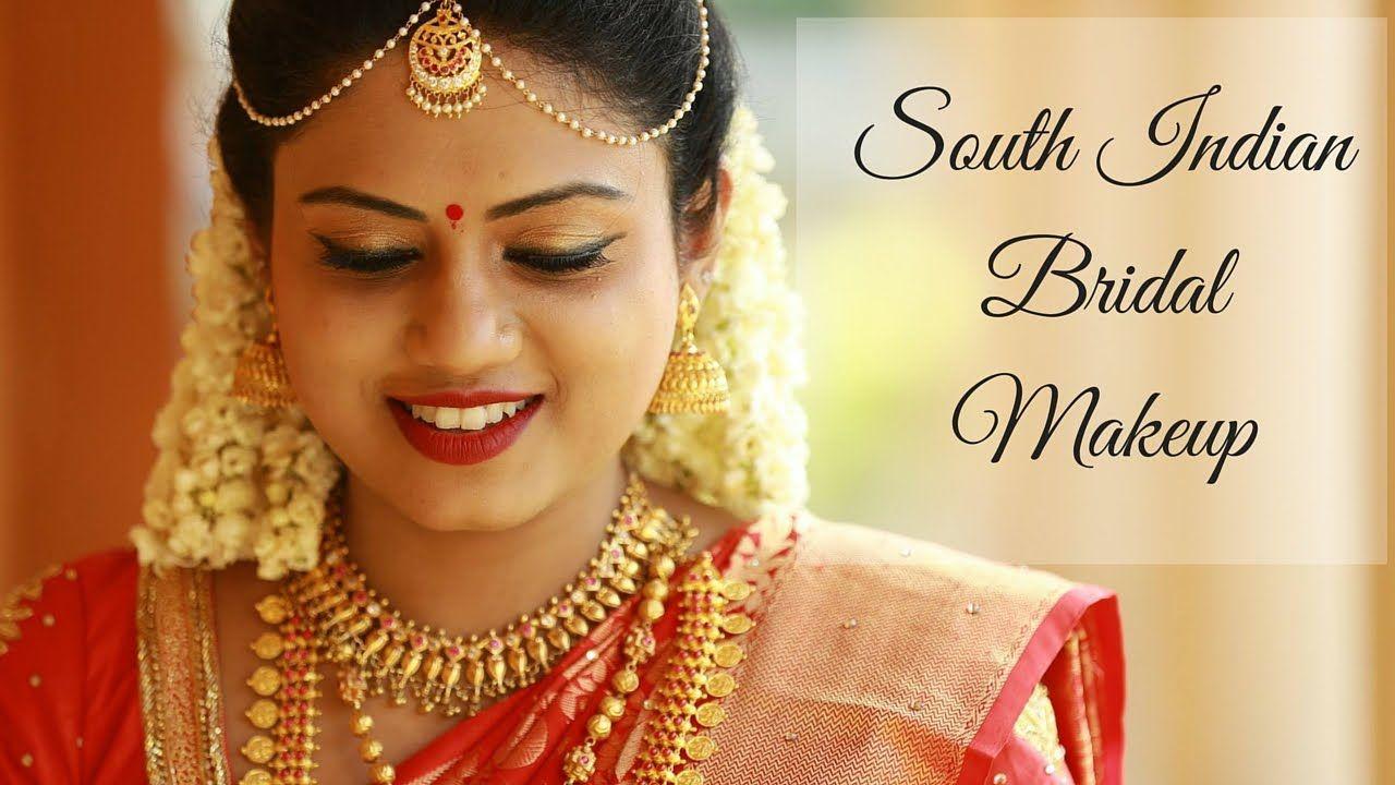 south indian bridal makeup tutorial   bridal makeup tutorial