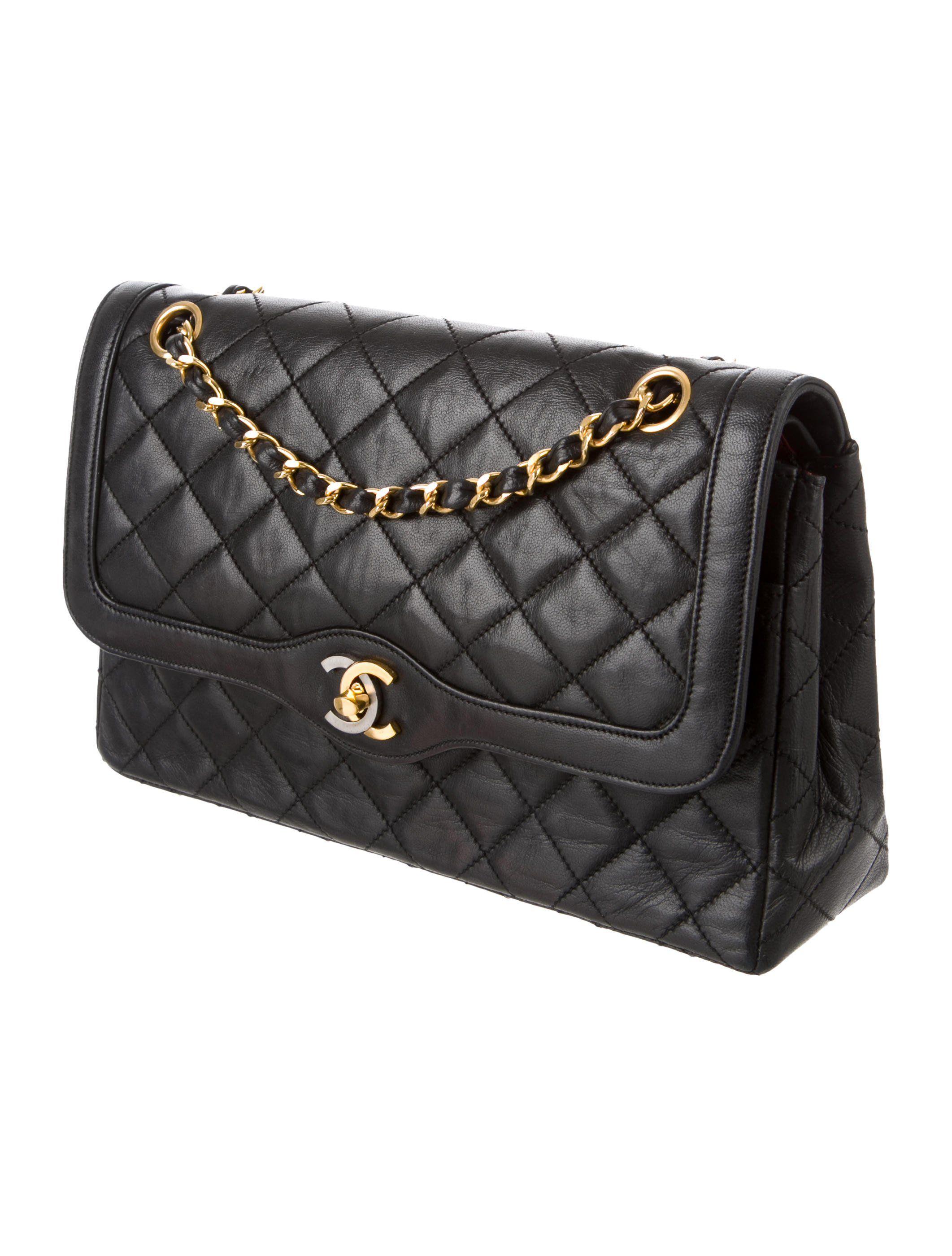 Chanel Vintage Paris Double Flap Bag Handbags Cha246654