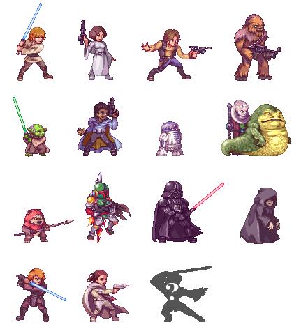 Star Wars Fighters By Orkimides Pixel Art Games Pixel Art Design Pixel Art