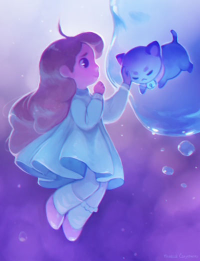 cute fanart for bee and puppycat