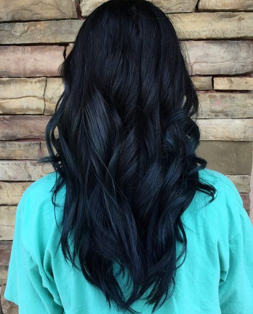 Photo of 16 Stunning Midnight Blue Hair Colors to See in 2020