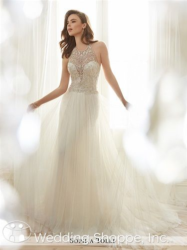 Sophia Tolli Celestia Wedding Dress   Romantic and Ethereal Bridal ...