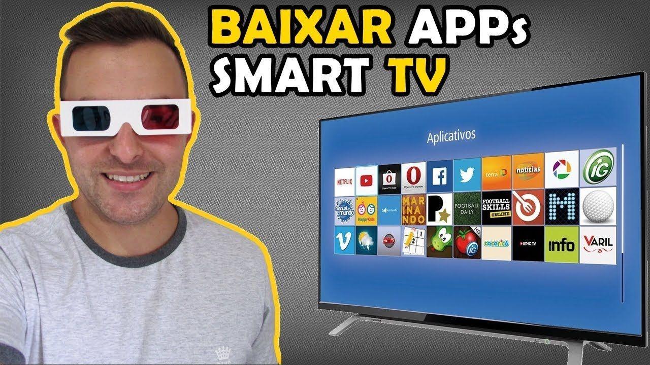 Como Baixar/Instalar Aplicativos na Smart TV YouTube em