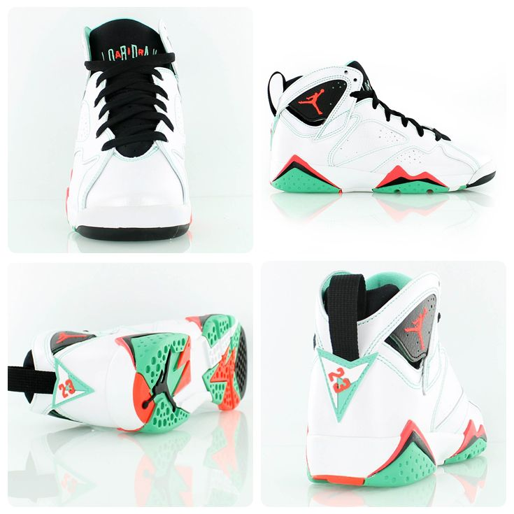 8784a6a998c Another Air Jordan Retro colorway exclusively for the ladies. The Air  Jordan 7 Retro GG  Verde  - perfect cw for spring!