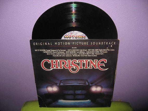 Rare Vinyl Record Christine Original Soundtrack Lp 1983