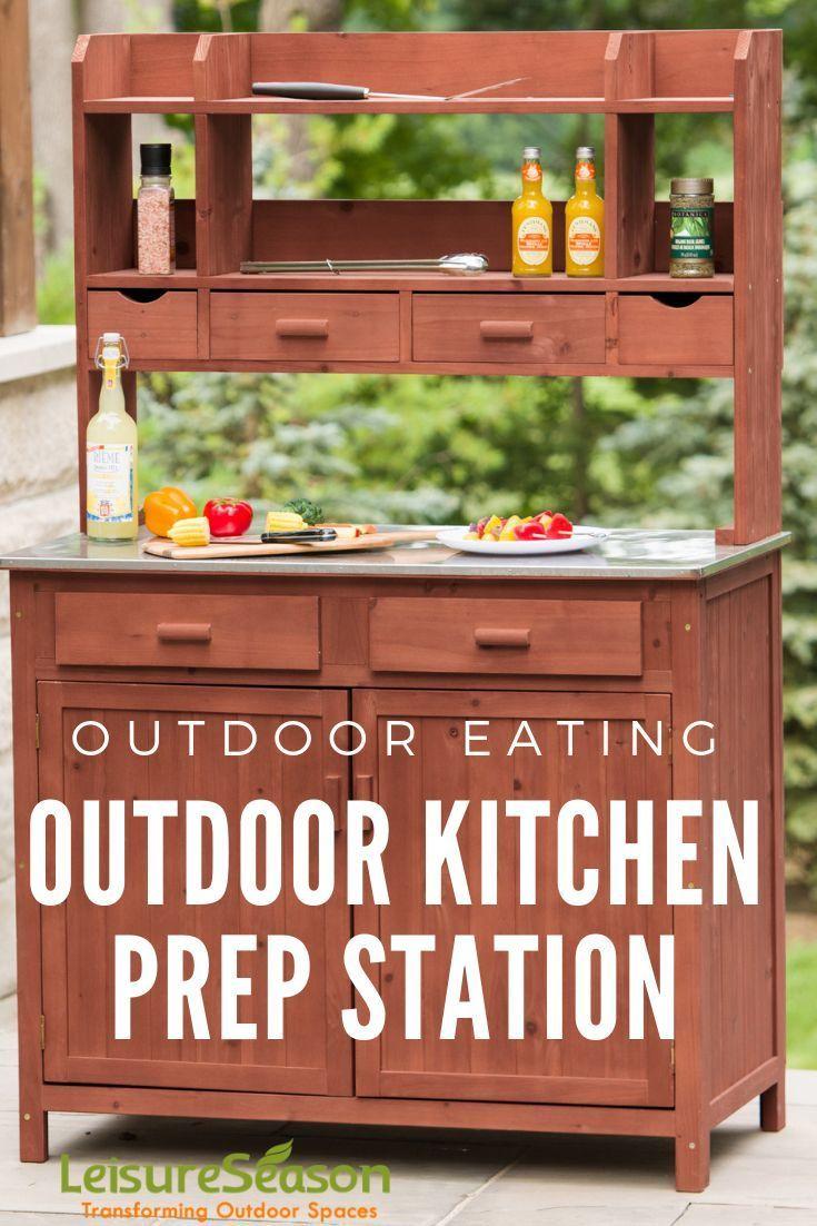 outdoor cooking prep station in 2020 outdoor kitchen outdoor kitchen island outdoor cooking on outdoor kitchen essentials id=24726