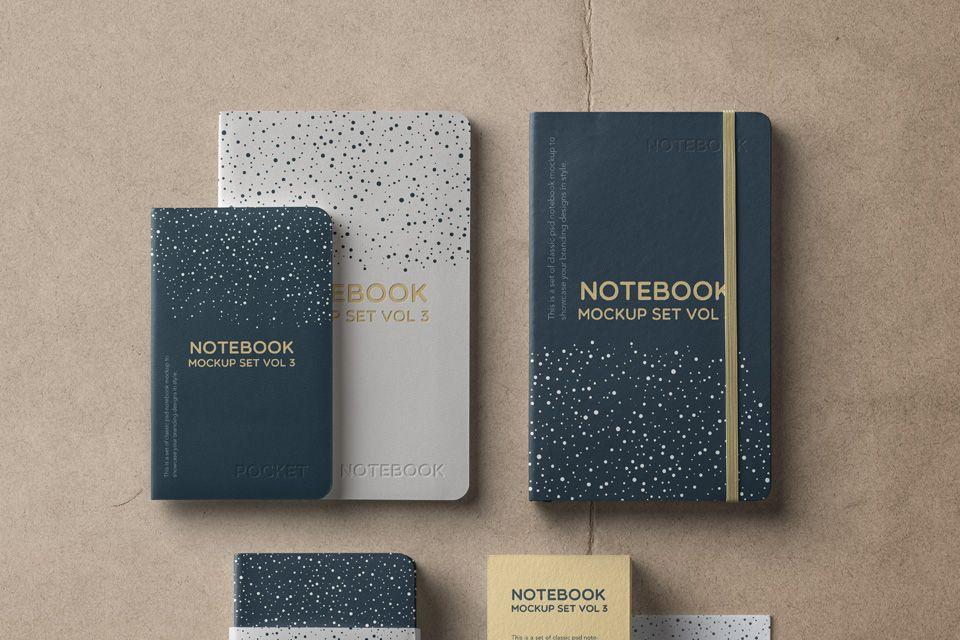Notebook Mockup Free