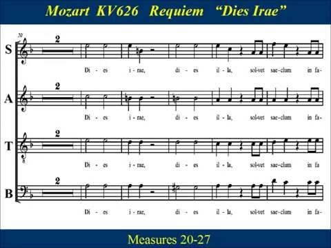 Motzart Requiem Sop Parts Opera and vocal technique Pinterest