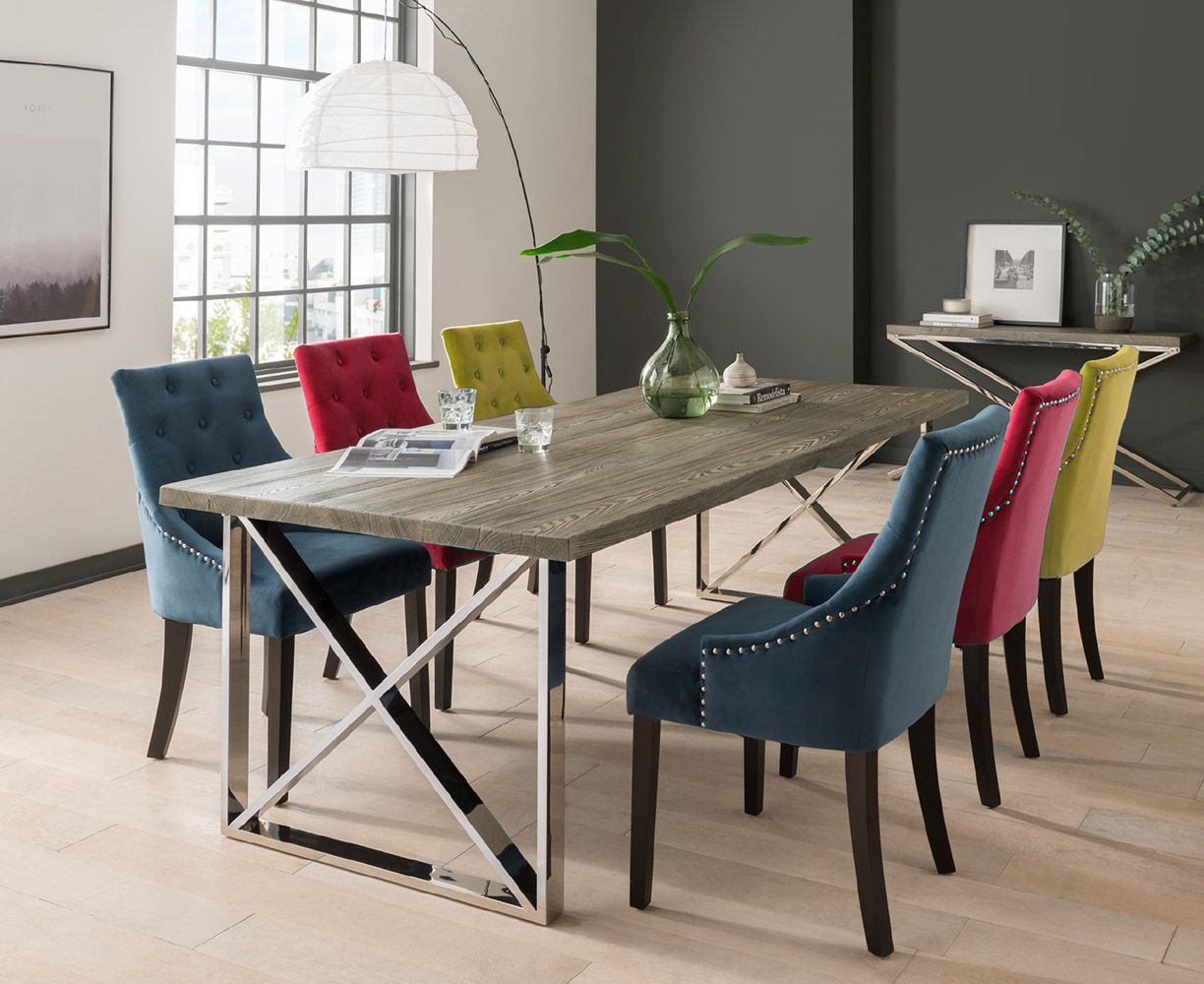 Add A Pop Of Colour To Neutral Decor With Our Brushed Velvet