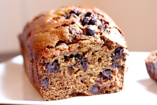 nutella chocolate chip pumpkin loaf! by felsull, via Flickr