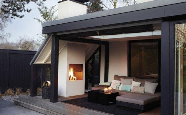 Gartenkamin oder offene Feuerstelle - 30 Ideen, wie Sie stilvolle Gemütlichkeit im Garten schaffen!