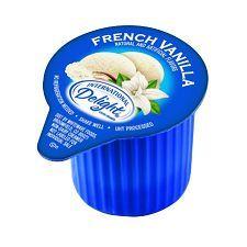 International Delight French Vanilla Single-Serve Creamers #frenchvanillacreamerrecipe