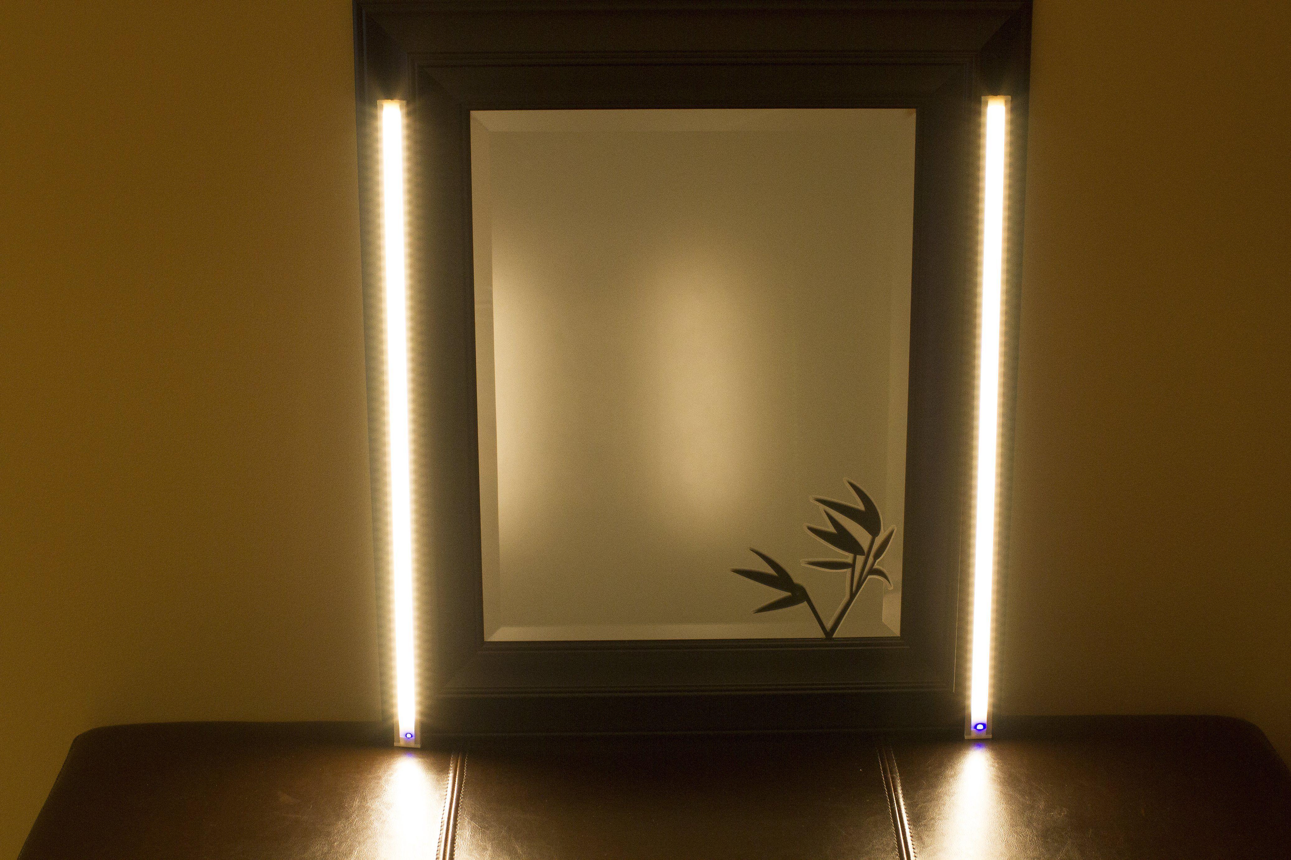 2pcs Makeup Mirror Warm White Led Light Professional Series