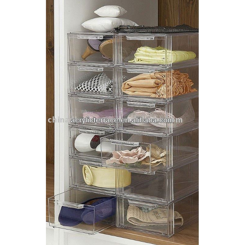 bins plastic drawers cheap storage clothes containers for acrylic closet