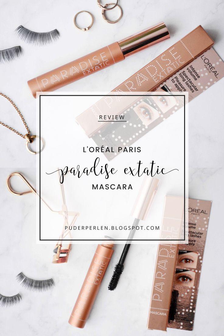Review] L\'Oréal Paris - Paradise Extatic Mascara | Mascaras, Loreal ...