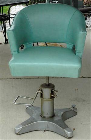 retro mint hydraulic salon chair i want it for my bathroom to