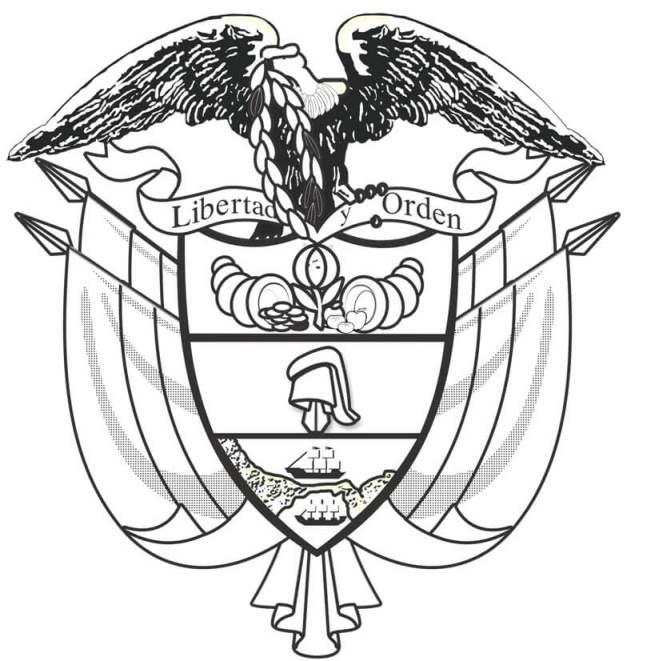 Escudo De Colombia Para Dibujar Escudo De Colombia Simbolos Patrios De Colombia Simbolos Patrios Bandera De Colombia