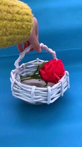 Beautiful Paper Basket