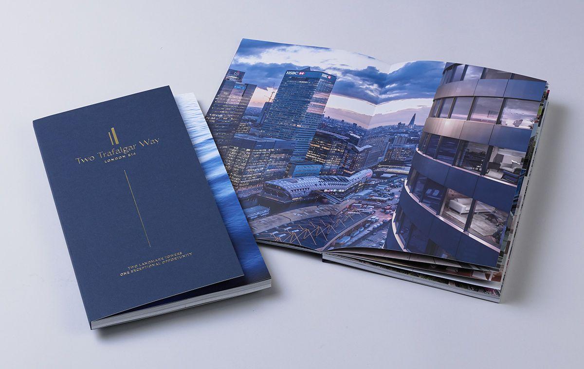 Two Trafalgar Way Gqdesign Property Branding Property Brochures Real Estate Brochures