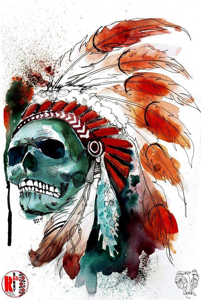Redberry Tattoo Studio Wrocław #tattoo #inked #ink #studio #wroclaw #warszawa #tatuaz #dresden #redberry #katowice #amazingtattoo #dzolama #redberrytattoostudio #amaizingtattoo #poland #berlin #sketch #delicate #kwiaty #flowers #aquarel #czaszka #skull #pioropusz