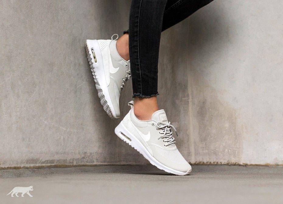 Nike Wmns Air Max Thea (Light Bone / Sail - White)