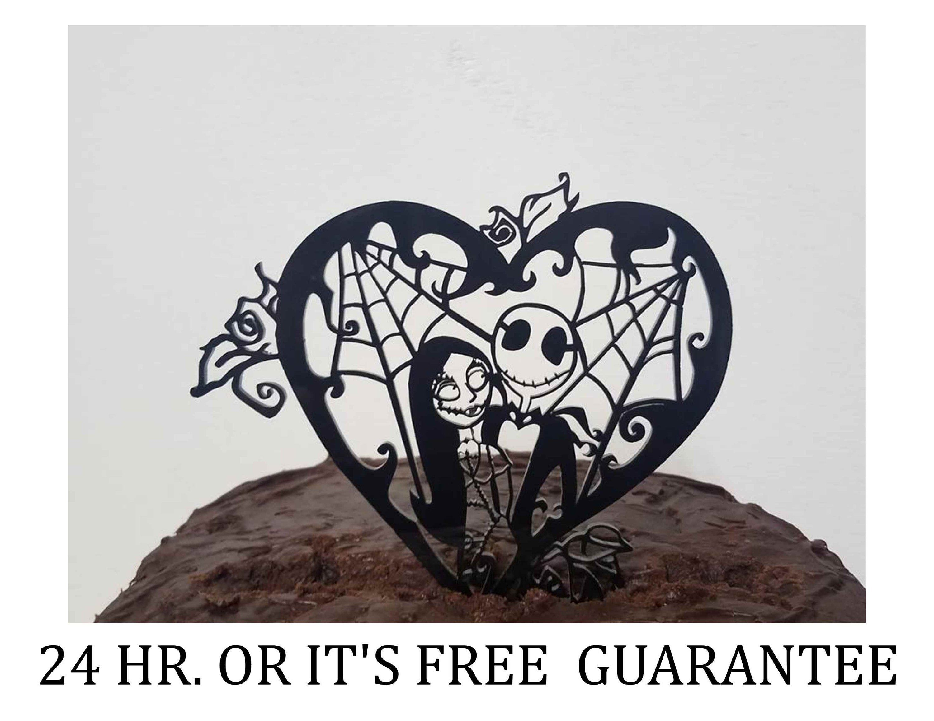 Nightmare Before Christmas Jack and Sally Simply Meant To Be Heart ...