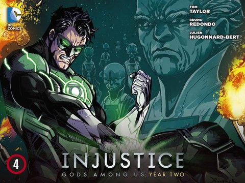 Injustice: Gods Among Us - Year 2 - Episode 4 **Day and Date Release** #dccomics #greenlantern #injusticeyear2 #batman #superman #madefire #motionbooks