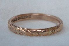 The night of their marriage, Abraham Lincoln slipped on to Mary Todd's finger an Etruscan gold wedding band. Inside the ring, the words, Love is eternal, were engraved.