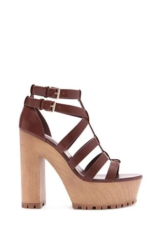 7d4e862a526 Faux Leather Sandals
