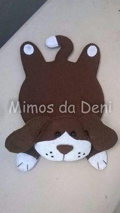 Resultado de imagem para molde de tapetinho de caneca gatinho ou cachorrinho