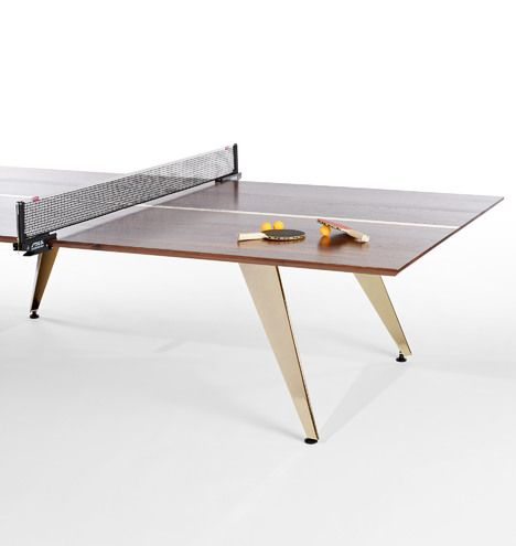The Good Mod Ping Pong Table Doubles As Modern Dining Table