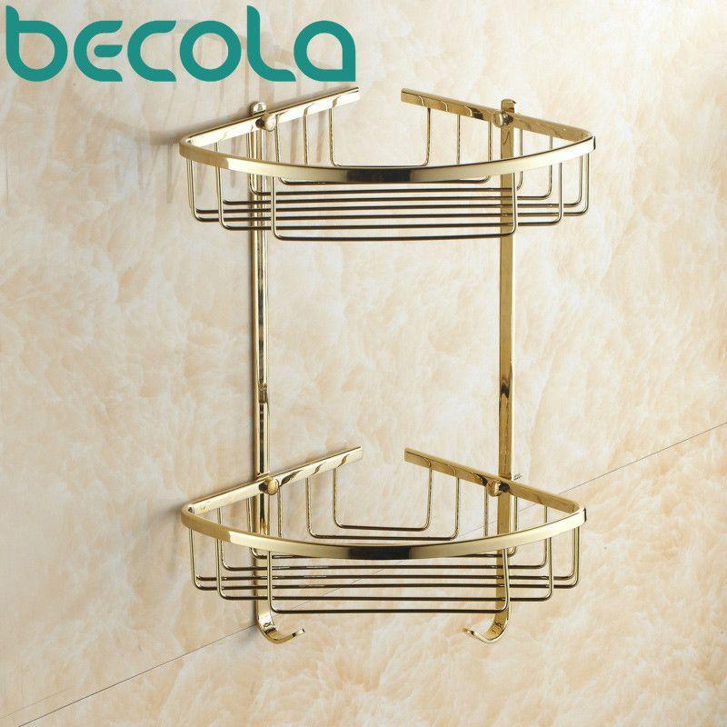 Luxury Gold Plated Br Bathroom