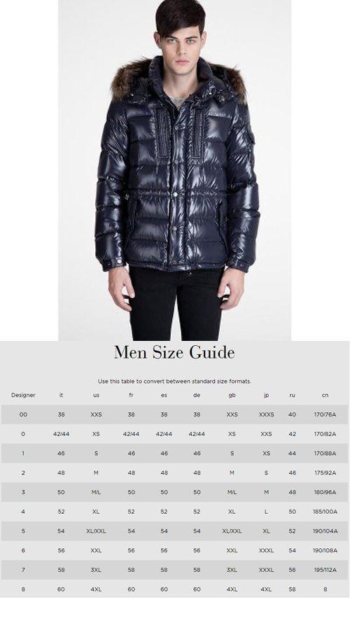 moncler hombre size 56