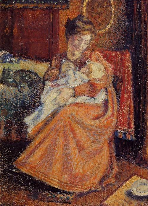 The Newborn - Georges Lemmen  1904