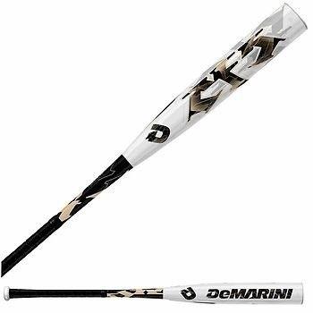 Demarini CF5-10 Baseball Bat (White/Black, 31-Inch/21-Ounce