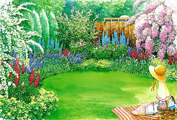 Gestaltungsideen Fur Einen Sichtschutz Small Garden Design Garden Design Garden Planning