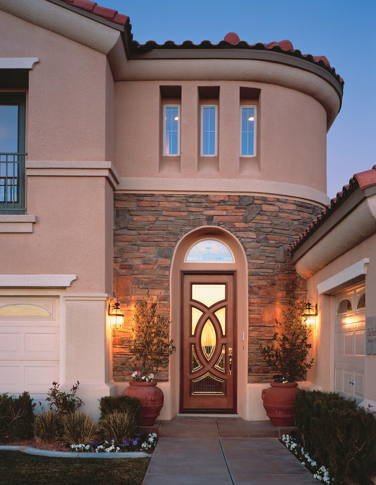 Aurora® Custom Fiberglass Glass Panel Exterior Door | JELD-WEN Doors ...