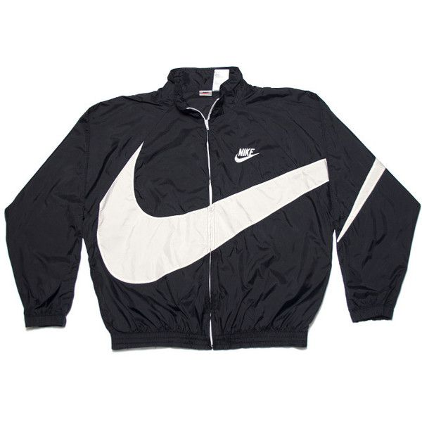 9c081253b8 Vintage Nike Jackets ❤ liked on Polyvore featuring outerwear ...