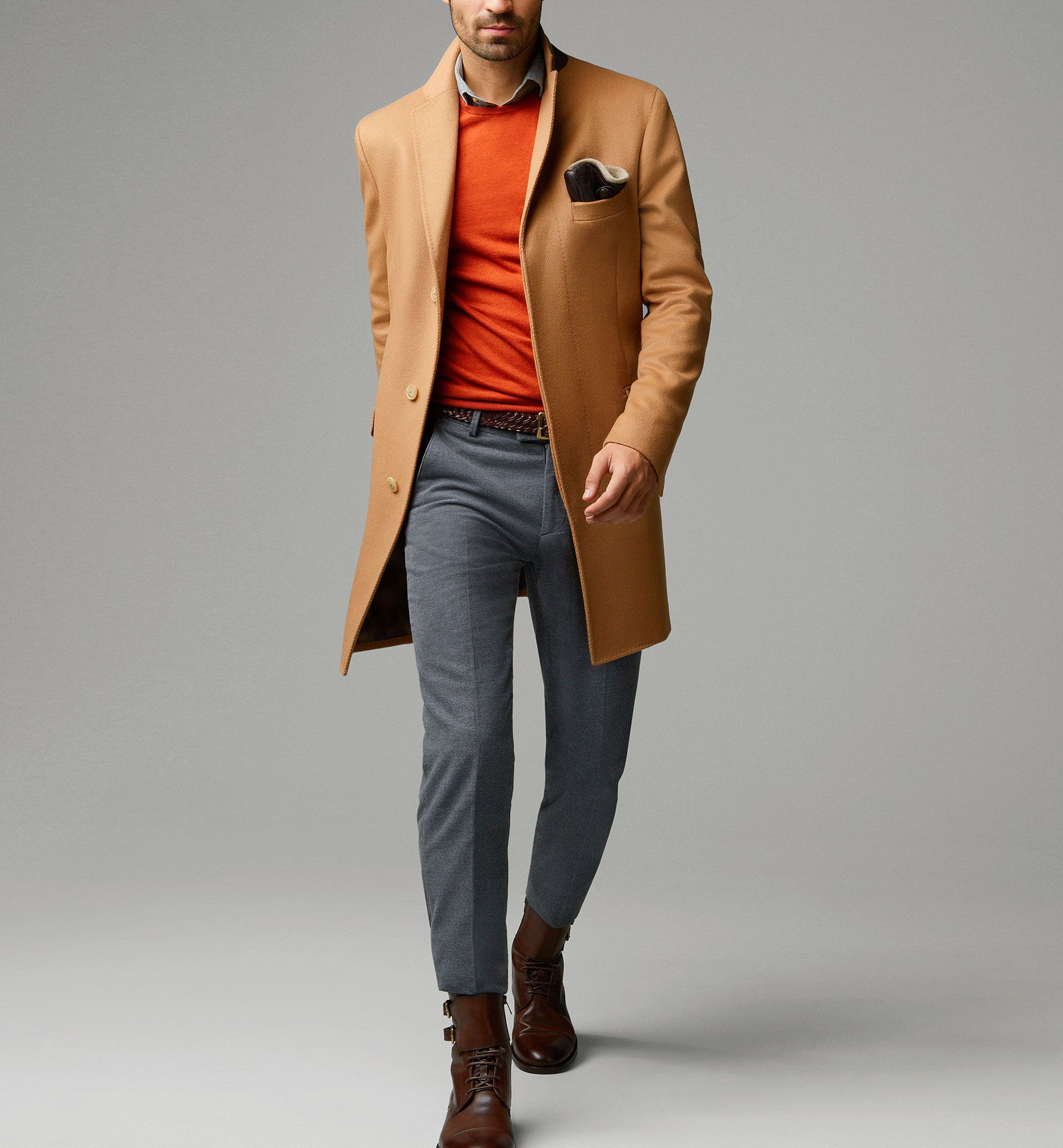 WOOL AND CASHMERE COAT | Massimo Dutti | Pinterest | Coats, Wool ...