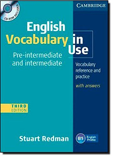 English Vocabulary In Use Pre Intermediate Intermediate Stuart