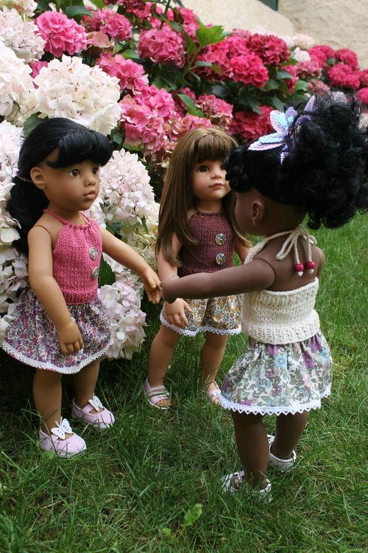 TUTO DOS-NU pour poupées GOTZ et MARU (50cms) - Les créas de Nathalie