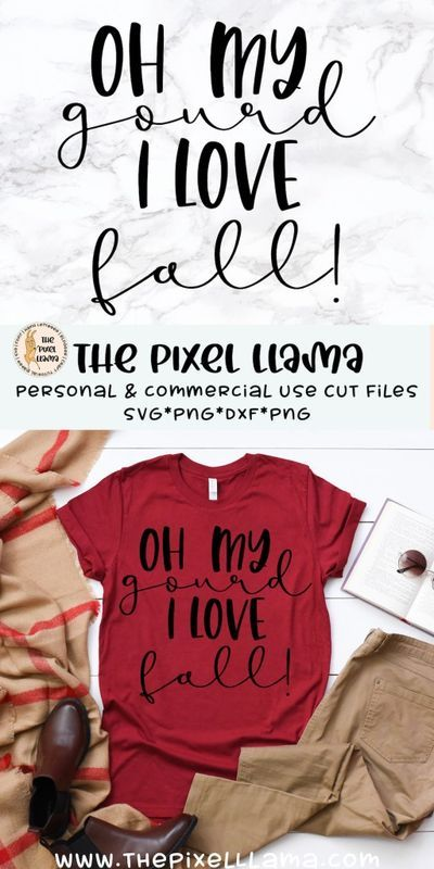 Download Oh My Gourd I Love Fall SVG in 2020 | Svg, Falling in love ...