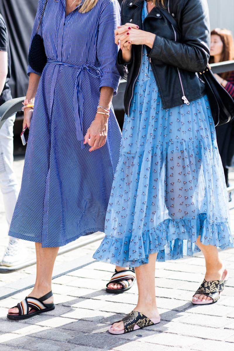 These Are The Best Shoes To Wear With A Midi Skirt Fashion Midi Skirt Nice Shoes [ 1200 x 800 Pixel ]