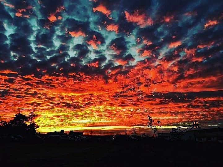 Don't miss this one by dulce_dgo #landscape #contratahotel (o) http://ift.tt/1SNk6JB el cielo de toluca se encendio en unos borregos rojinaranjas y asi se vio el atardecer  #cielo #clouds  #loveit #naturaleza #naranja #nubes #borregas #beautiful #instagram #photooftheday #paisajes #photo #vscocam #sunset #sun #mexico #toluca #tuesday #february #gorgeous #instant #red #obscuro #orange #instagood #instagrammers #estupendo