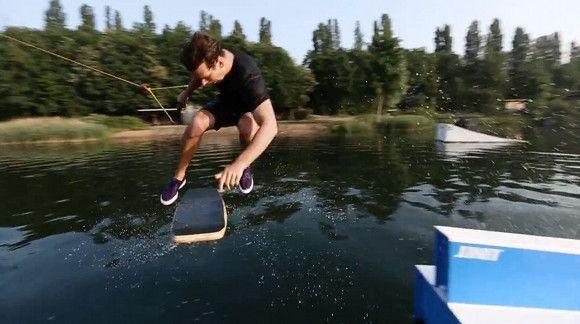 Andy Kolb in Langenfeld #wakeboard #wakeskate #wasserski