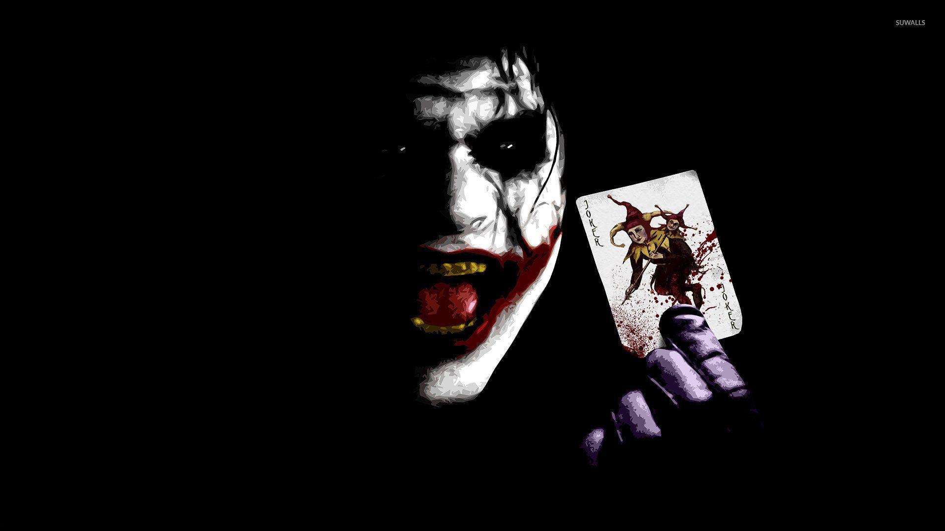 Res 1920x1080 The Joker Holding A Card The Dark Knight Wallpaper Joker Wallpaper Joker Wallpapers Joker Wallpaper Hd