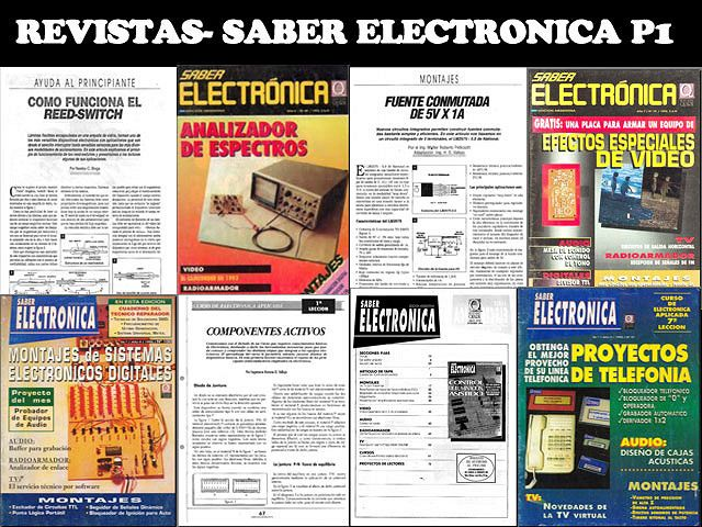 Revistas Saber electronica 1-101 [parte 1][MEGA] - Identi